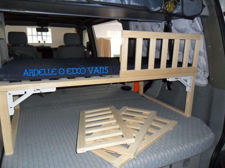Viaxando en furgo brico cuna cama extra para ni o en una - Cama plegable ninos ...