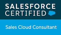 Salesforce Certified Sales Cloud Consultant verification for Richard Upton
