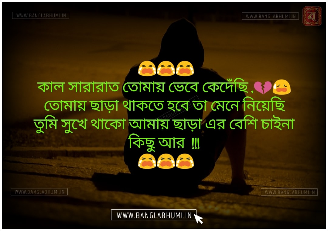 Whatsapp Bangla Sad Love Shayari Status Free share