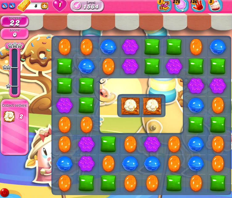 Candy Crush Saga 1564