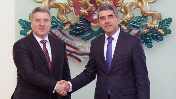 Mazedonischer Staatschef in Sofia