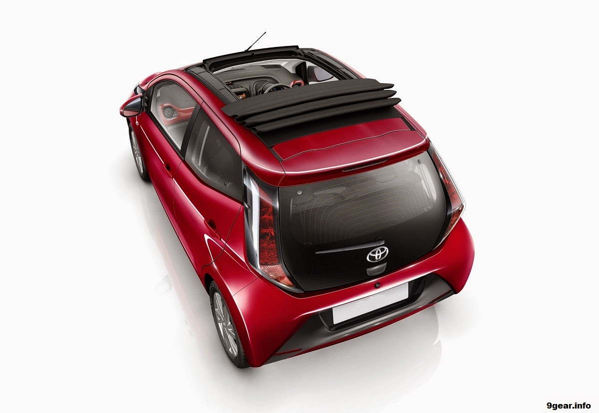 car reviews new car pictures for 2018 2019 2015 toyota aygo x wave gets convertible roof. Black Bedroom Furniture Sets. Home Design Ideas