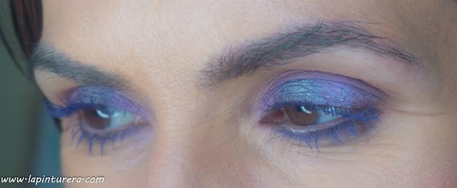 look azul y malva zoom ojos