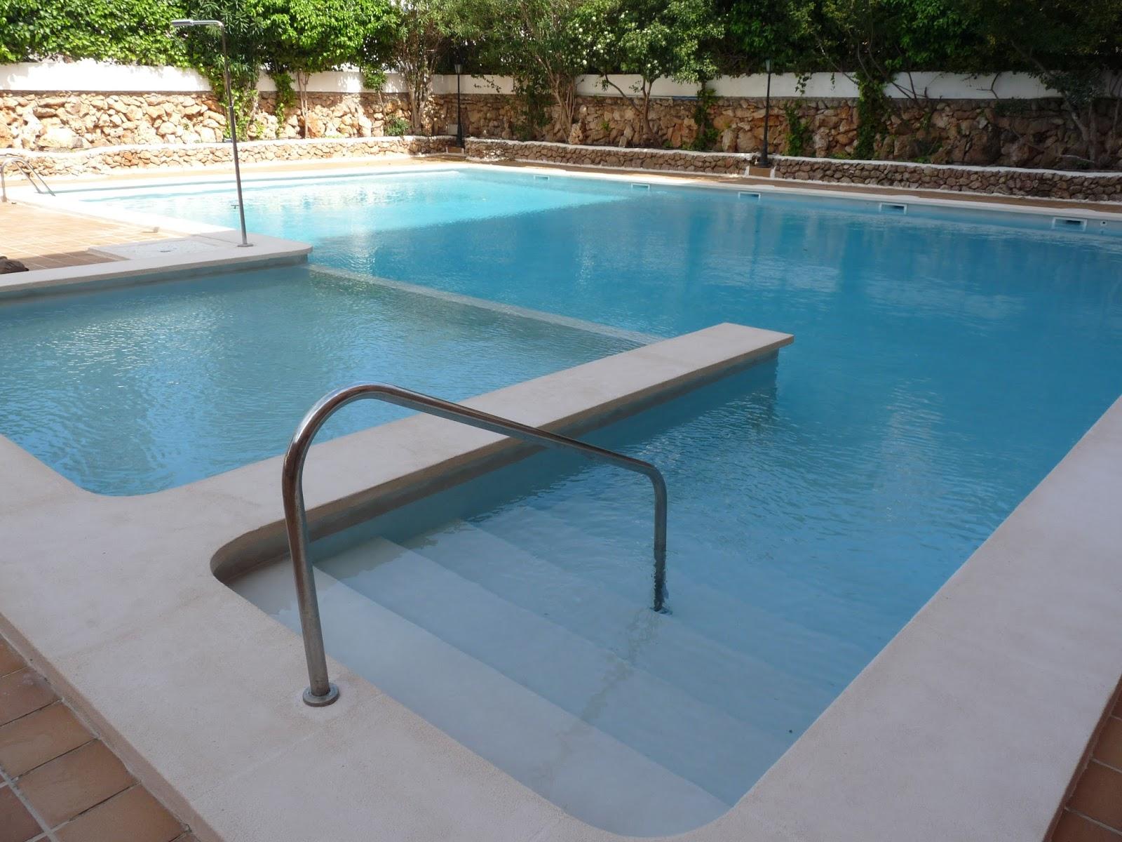 Reformas julio camarena revestimiento de piscina con for Revestimientos de piscinas