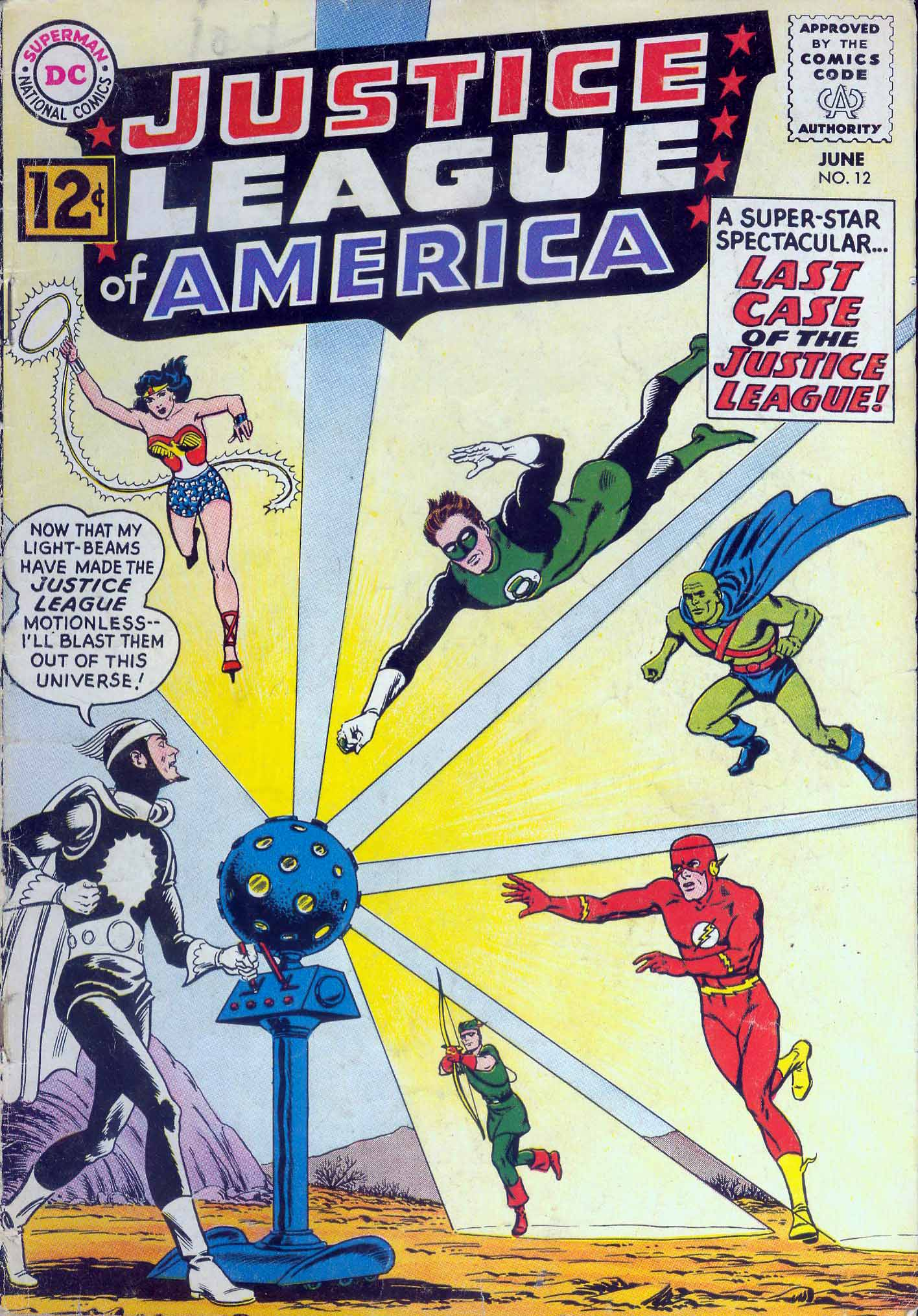 Justice League of America (1960) 12 Page 1