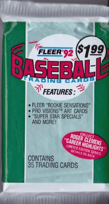 1992 Fleer Baseball (Jumbo)