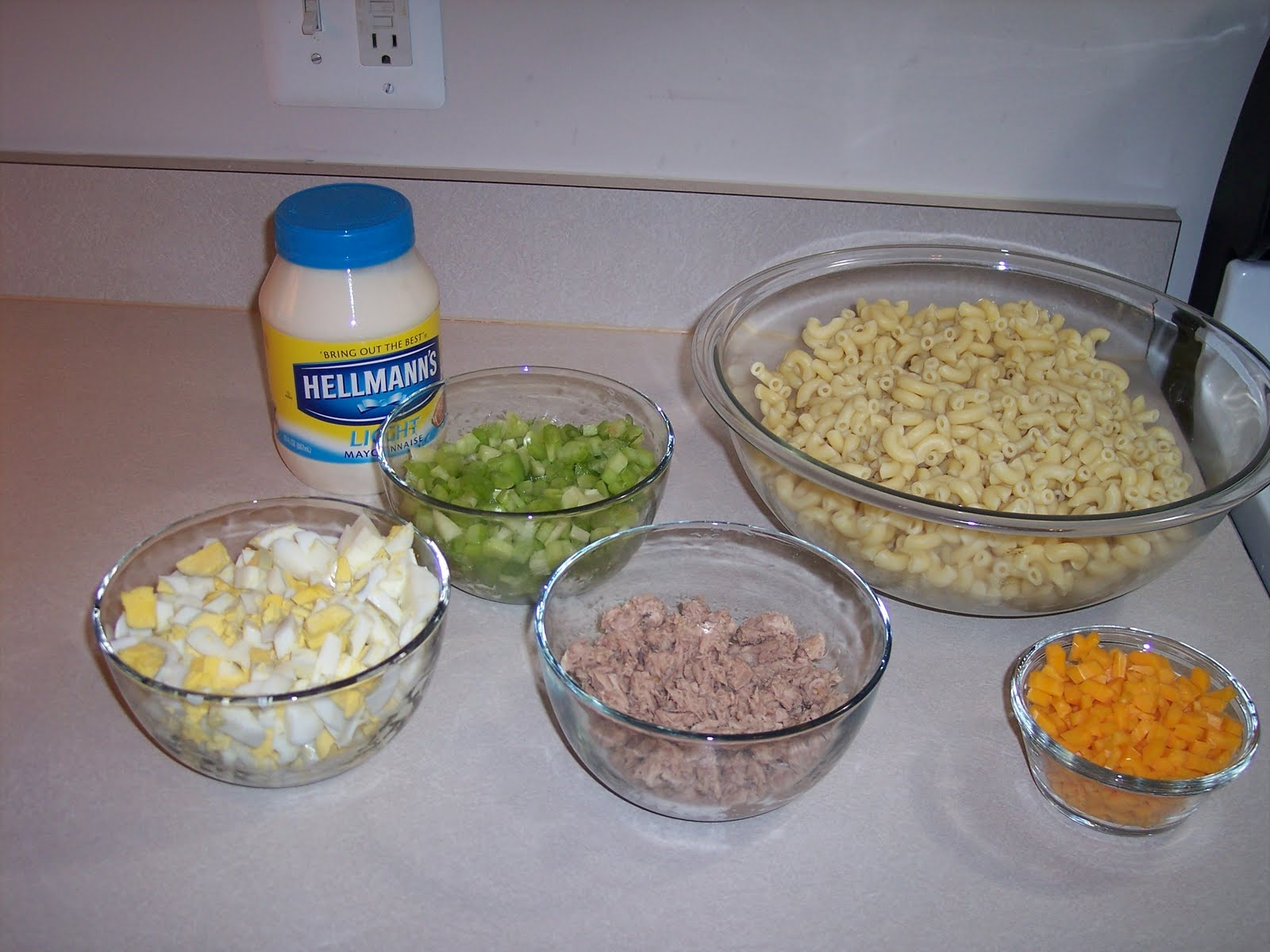Grandma Wells Tuna Macaroni Salad