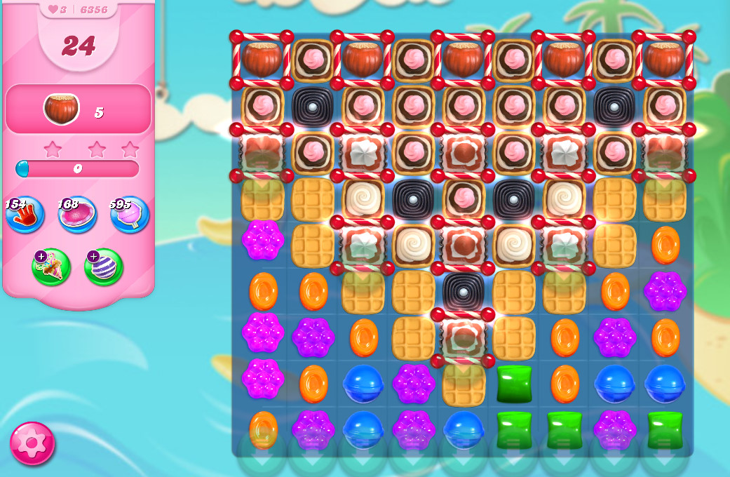 Candy Crush Saga level 6356
