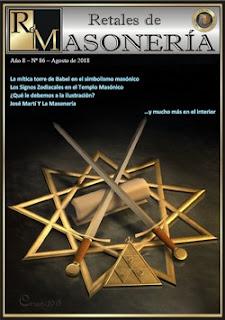 Retales de Masonería 86 – Agosto 2018