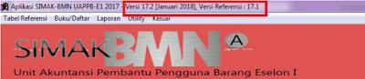 Update Aplikasi SIMAK-BMN Eselon I Versi 17.2