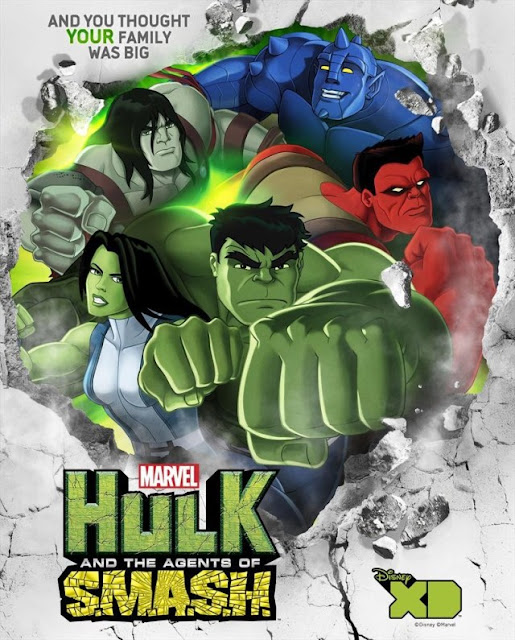Hulk and the Agents of S.M.A.S.H. S01E01 720P Hindi