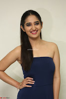 Radhika Mehrotra in sleevless Strap less Blue Gown At Prema Entha Madhuram Priyuraalu Antha Katinam Movie Interview ~  Exclusive 094.JPG