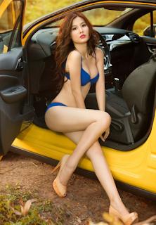Gái xinh facebook Diễm my 9x bikini