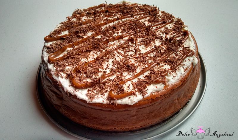 Receta del cheesecake horneado de dulce de leche