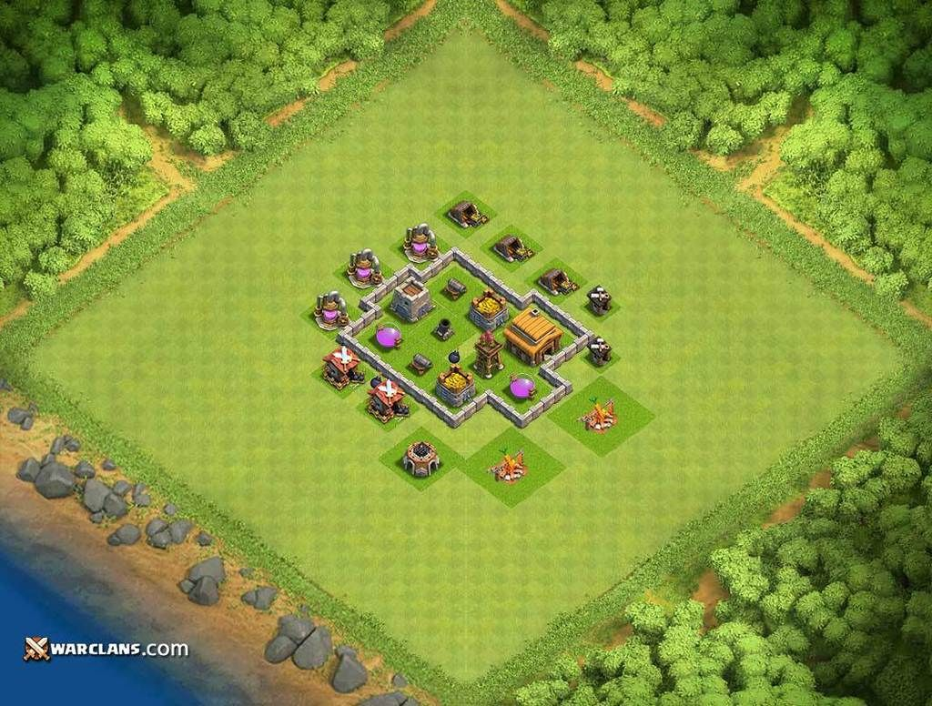 Clash Games Guide: Top 9 TH (Town Hall) 3 Bases