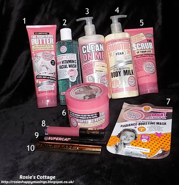 What's inside the Soap and Glory Spa of Wonder Gift Set?