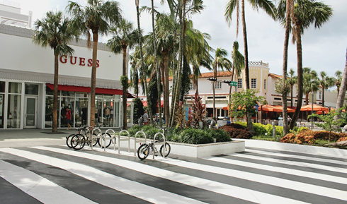 Lincoln Road Mall Miami Beach Florida