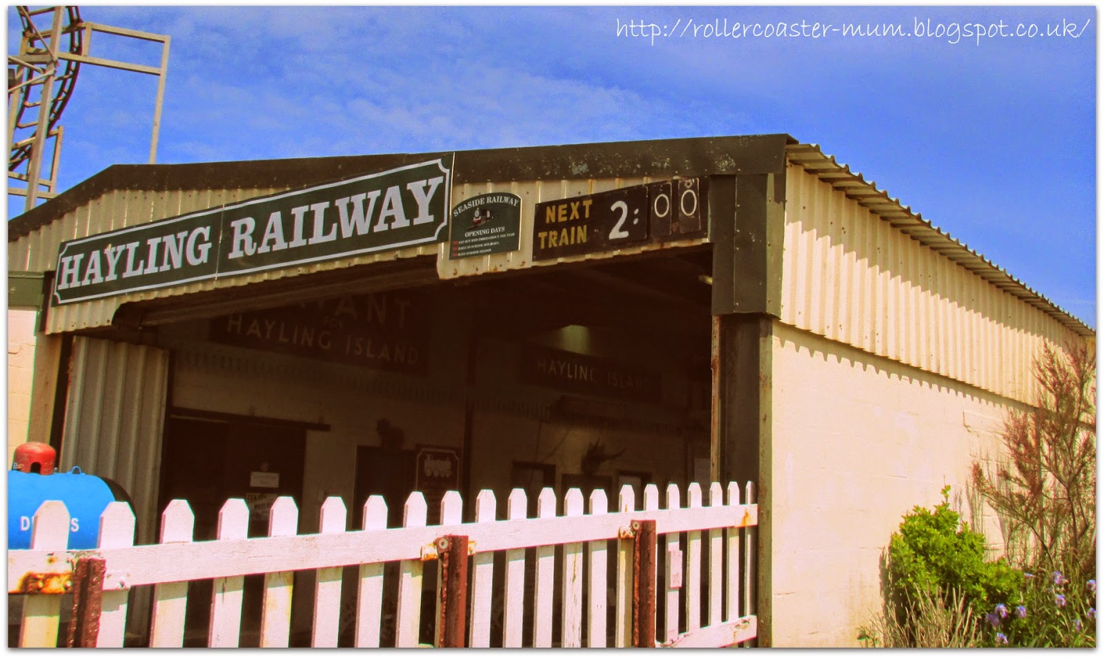 The Friendly Little Railway - Beachlands Station, Hayling Island