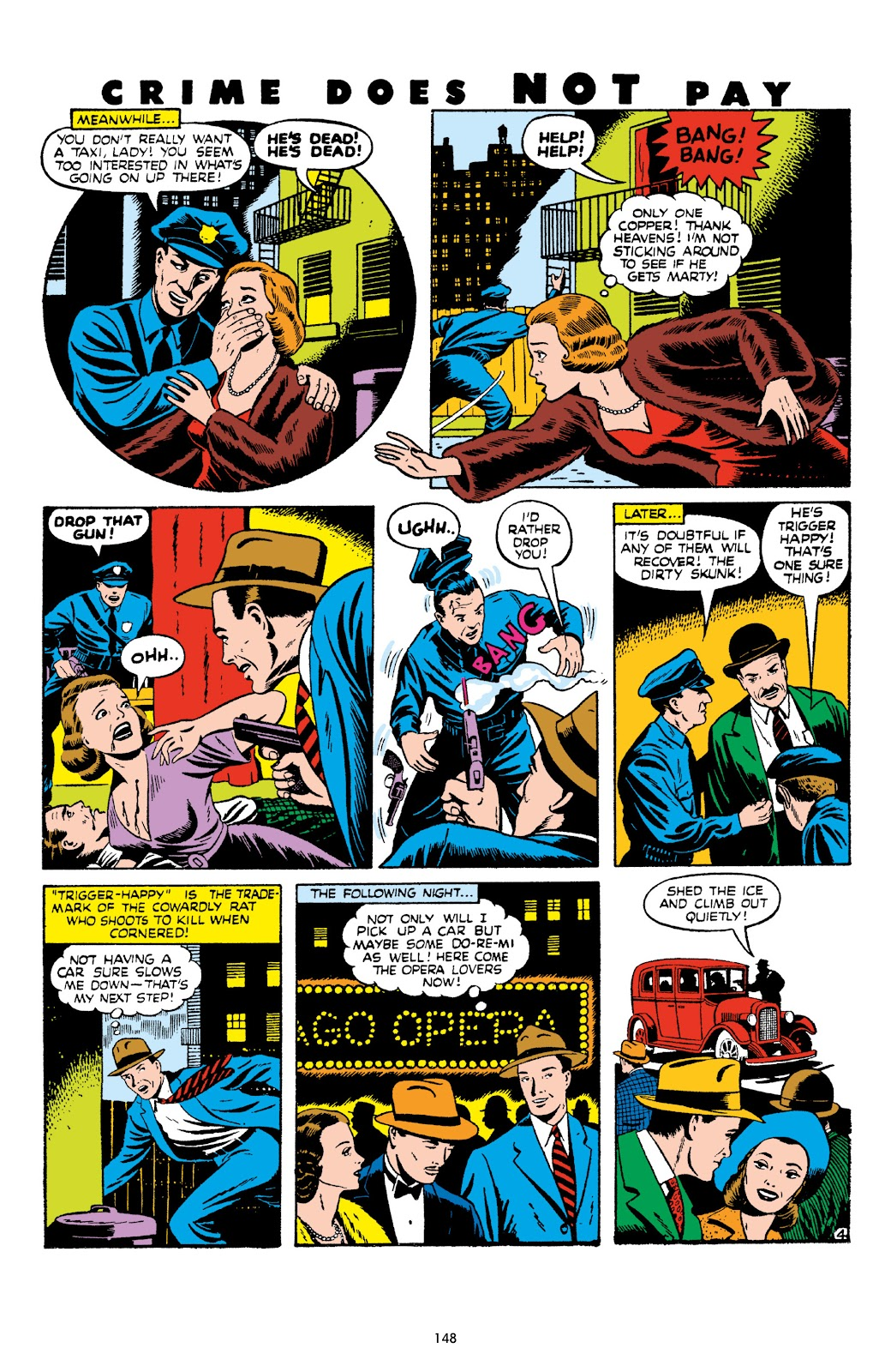 Read online Crime Does Not Pay Archives comic -  Issue # TPB 8 (Part 2) - 49