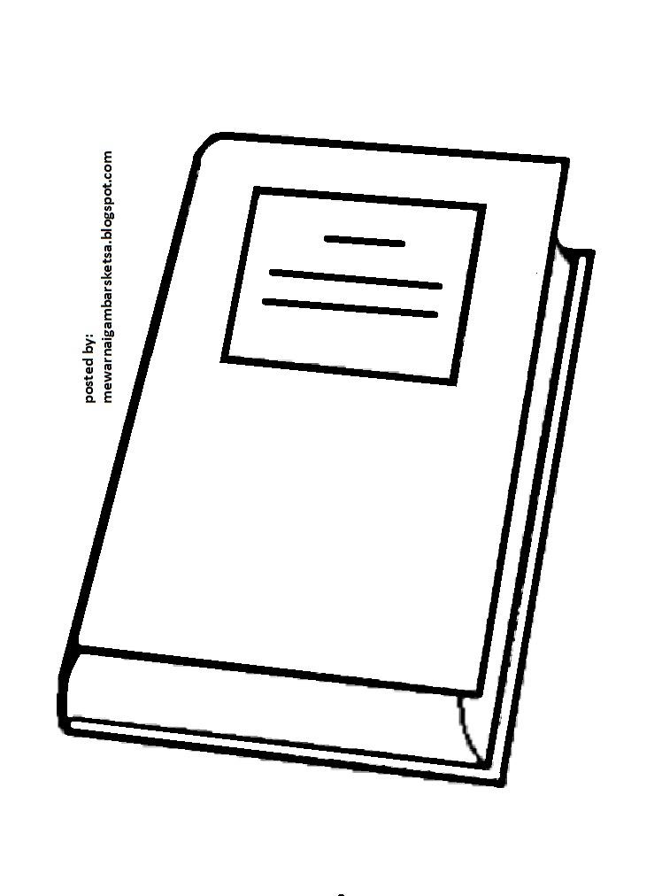 Mewarnai Gambar Mewarnai Gambar Sketsa Buku 1