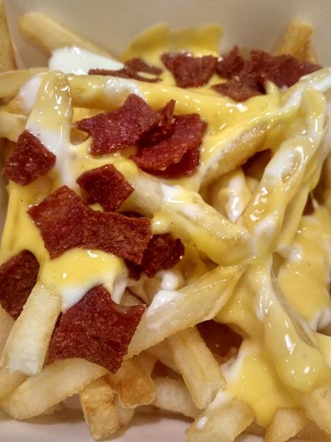Salted Egg Yolk Loaded Fries Rasa Macam Yunfila Writes