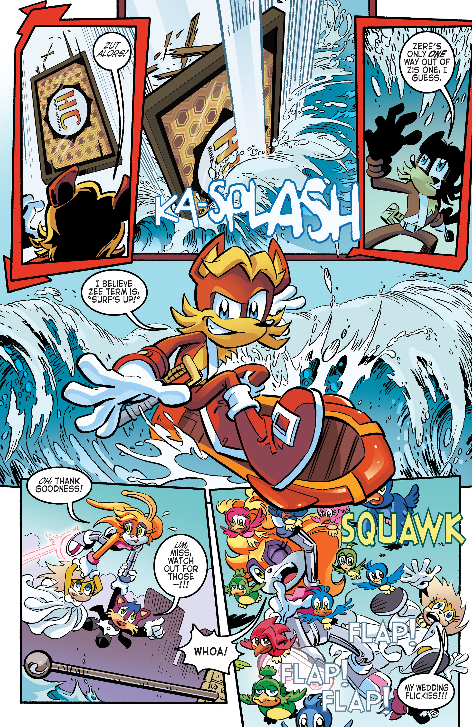 Read online Sonic The Hedgehog comic -  Issue #264 - 20