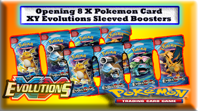 pokemon xy evolutions booster pack opening