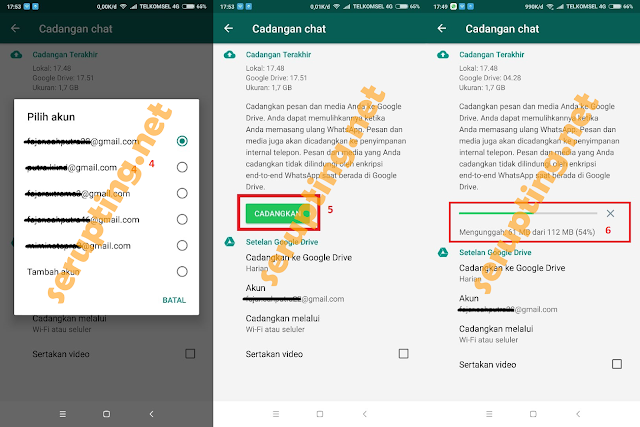 Cara Backup Chat Whatsapp, backup whatsapp, whatsapp google drive