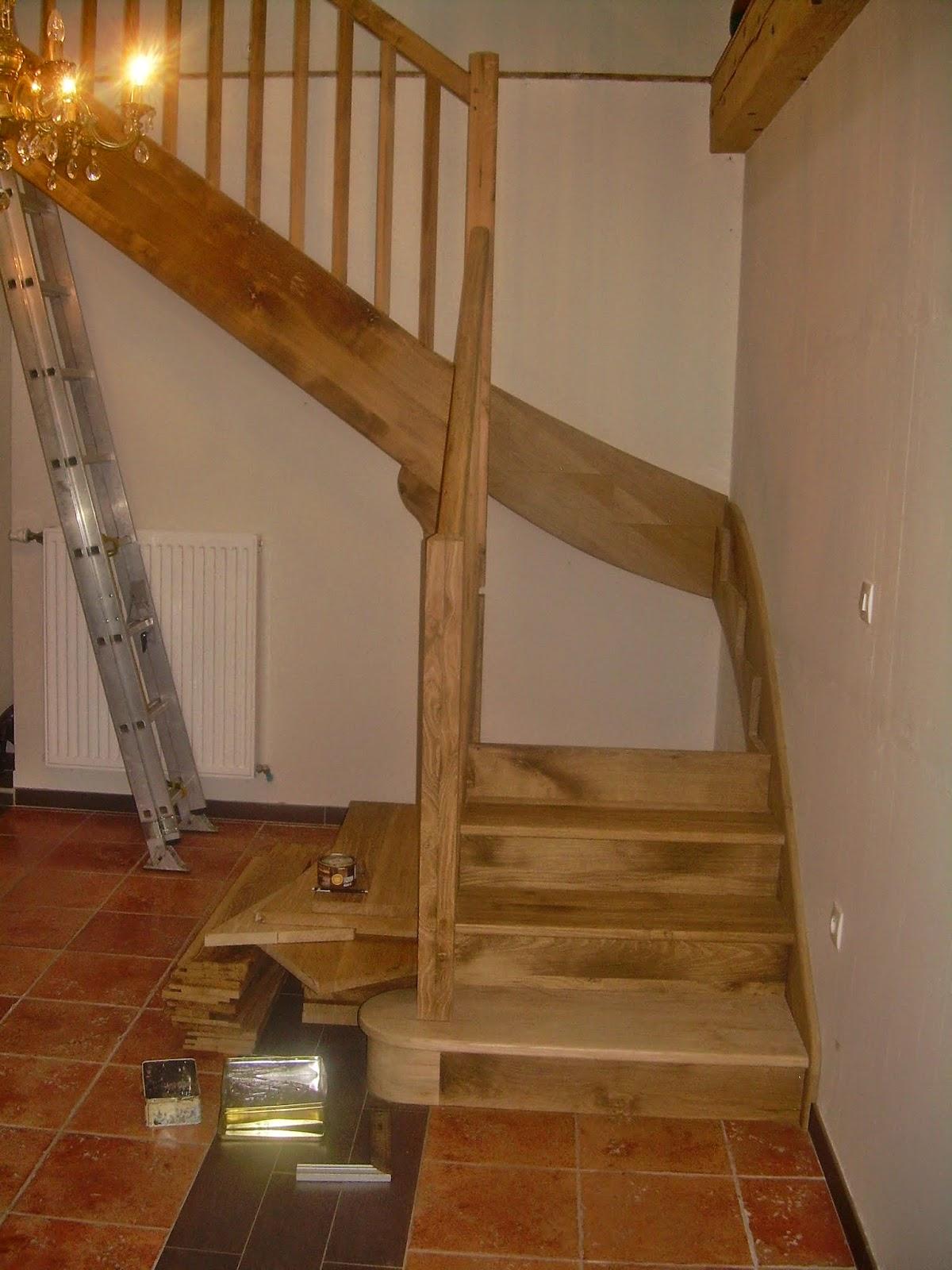 menuiserie d 39 avezac construire un escalier. Black Bedroom Furniture Sets. Home Design Ideas