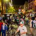 Desfile de catrinas  en la Fiesta Cultural de la Calaca