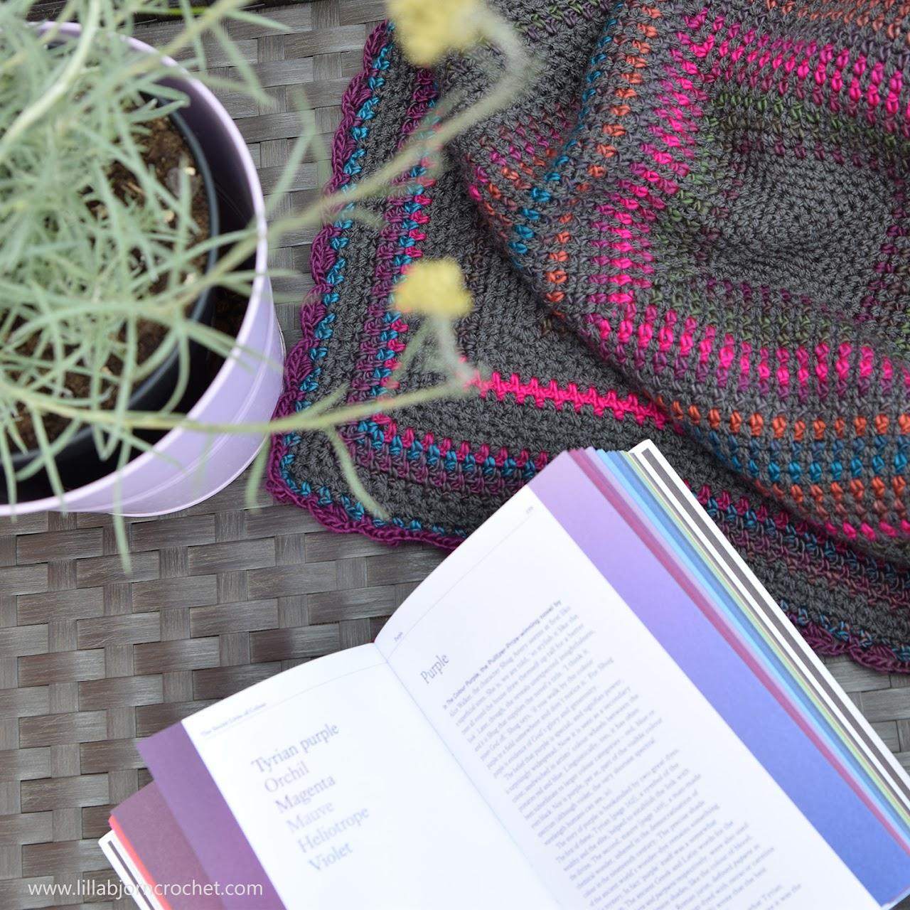 Around the World Blanket - #free crochet pattern by www.lillabjorncrochet.com