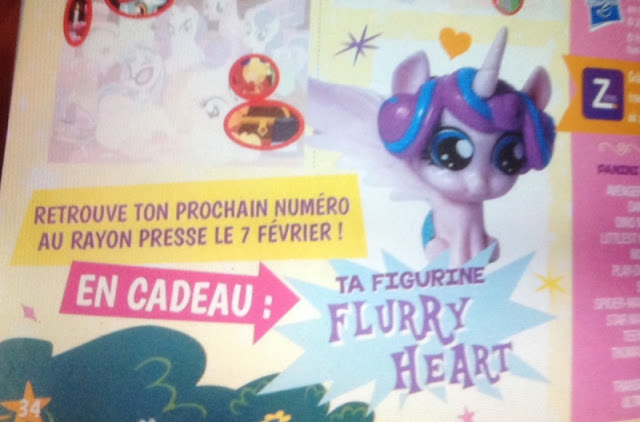 Flurry Heart Magazine Figure Europe