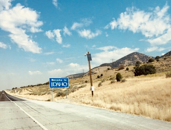 Staatsgrenze von Idaho