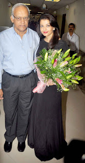 Aishwarya Rai And Her Father