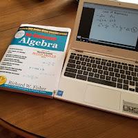 No-Nonsense Algebra from Math Essentials (A Homeschool Coffee Break Review) on Homeschool Coffee Break @ kympossibleblog.blogspot.com