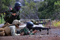 MARINIR INDONESIA AMERIKA Berlatih Menembak DI HAWAII