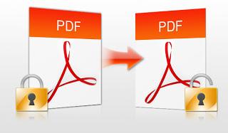 mencetak file pdf yang diproteksi