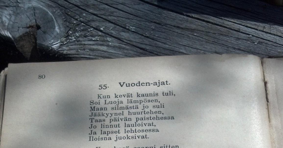 Vuodenaika Runoja Lapsille