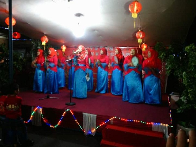 Perayaan IMLEK 2567 Diiringi Lagu Qasidah Muslim Tobelo
