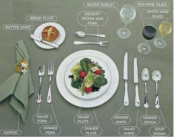 Jak nakryć do stołu