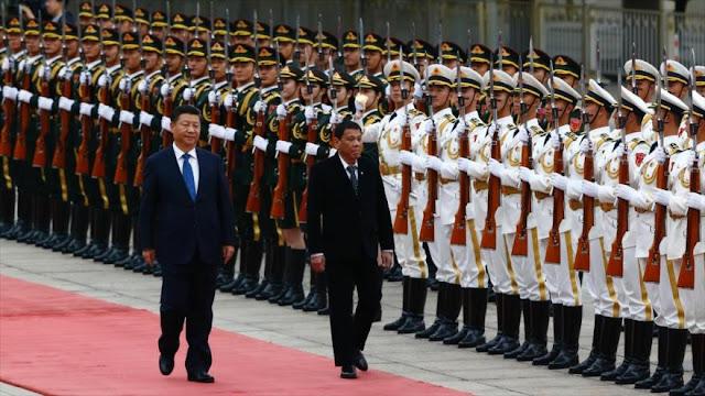 """""""Filipinas ya es amigo de China y no el caballo de Troya de EEUU"""""""