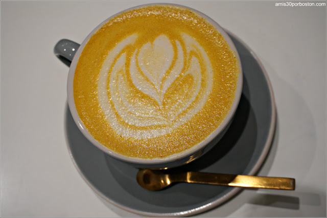 Saltwater Coffee: Turmeric Latte