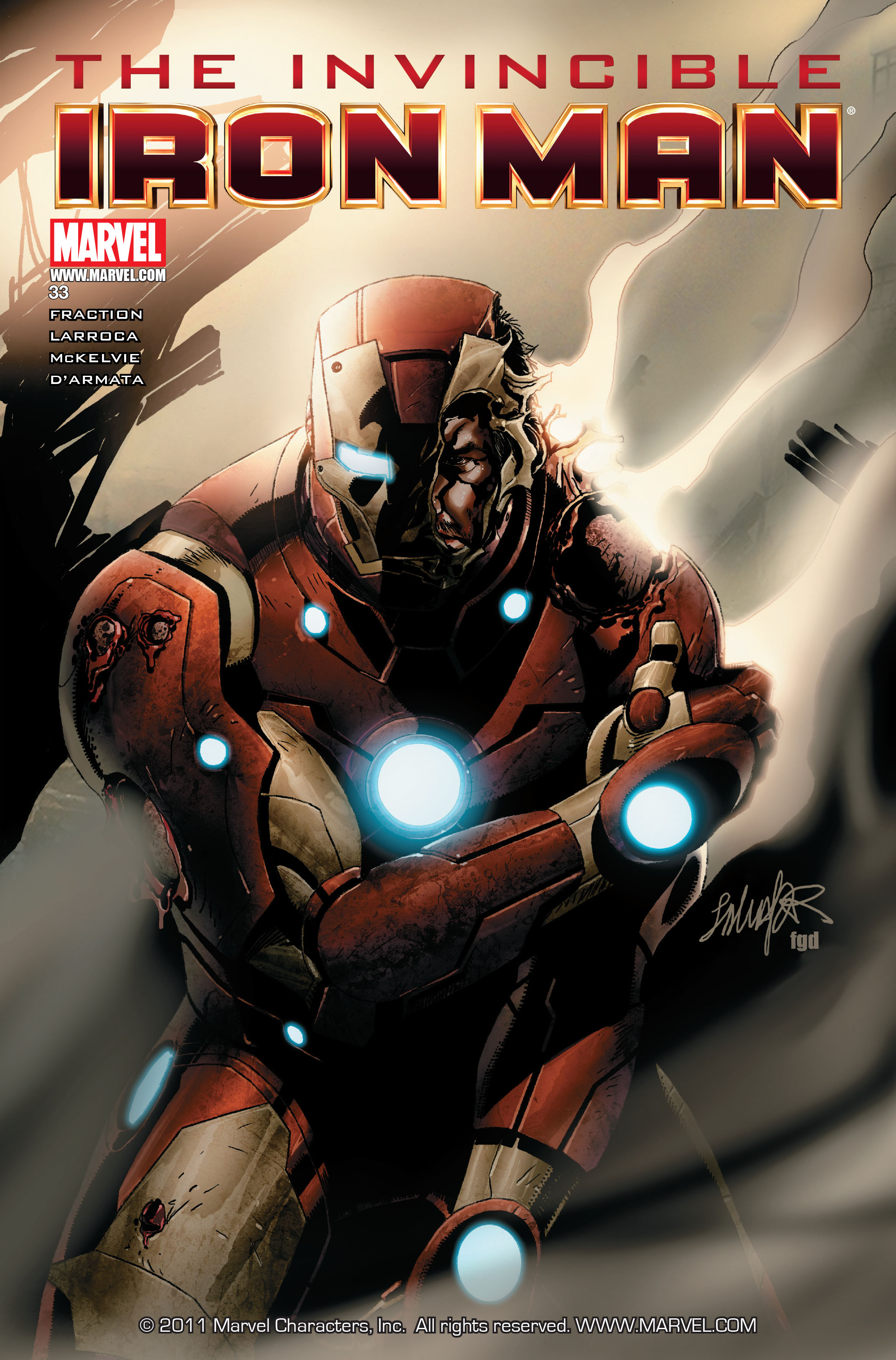 Invincible Iron Man (2008) 33 Page 1
