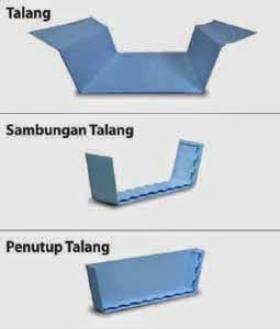 Talang Atap UPVC Rooftop