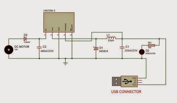rangkaian power bank
