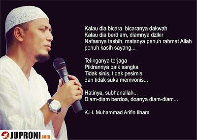 Versi Teks - Ceramah Ustadz Arifin Ilham yang Menggetarkan Hati