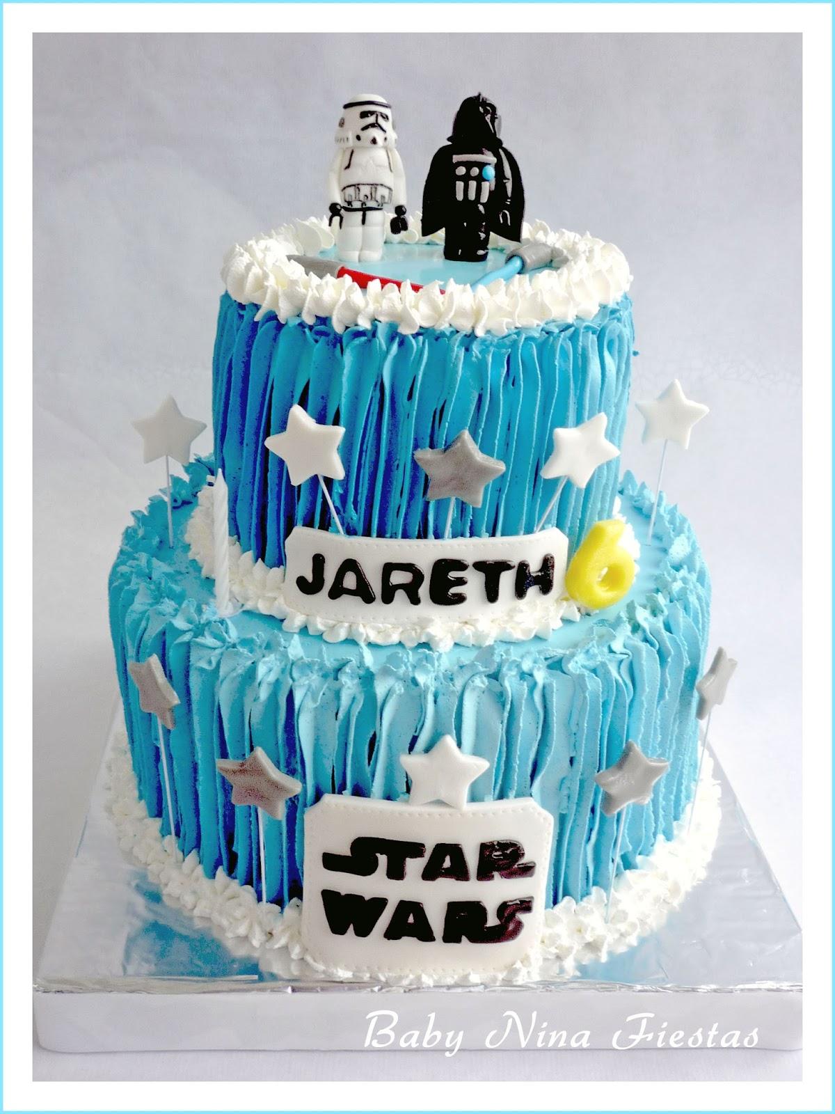 Decorar Tarta Star Wars Sencilla