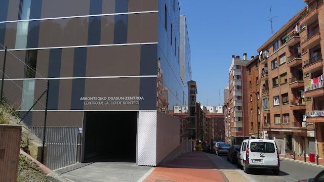 Ambulatorio de Rontegi a donde los vecinos demandan que se coloquen rampas mecánicas