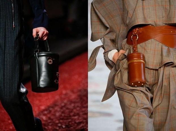 Fall-Winter 2018-2019 Women's Cylindrical Handbags Fashion Trends