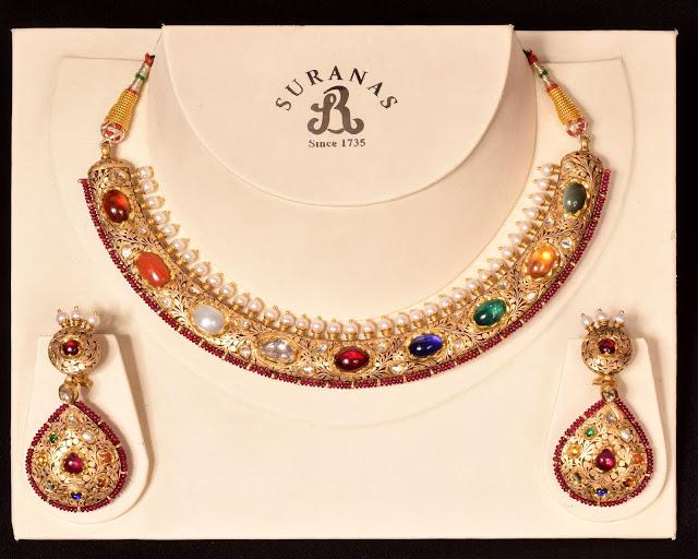 navratan-necklace-surana-jewellers-new-delhi